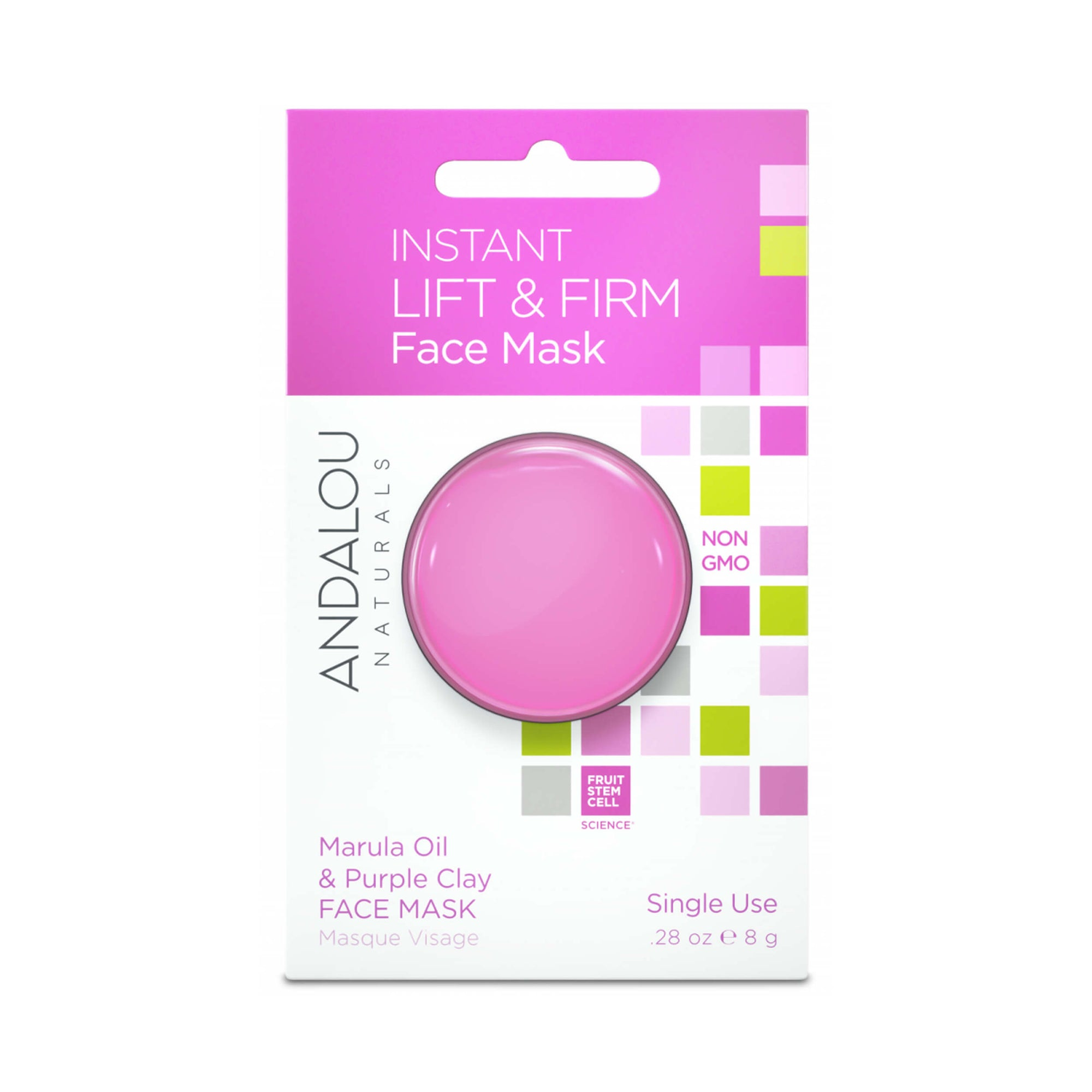 Andalou Naturals Instant Lift & Firm Clay Mask Pod 8g