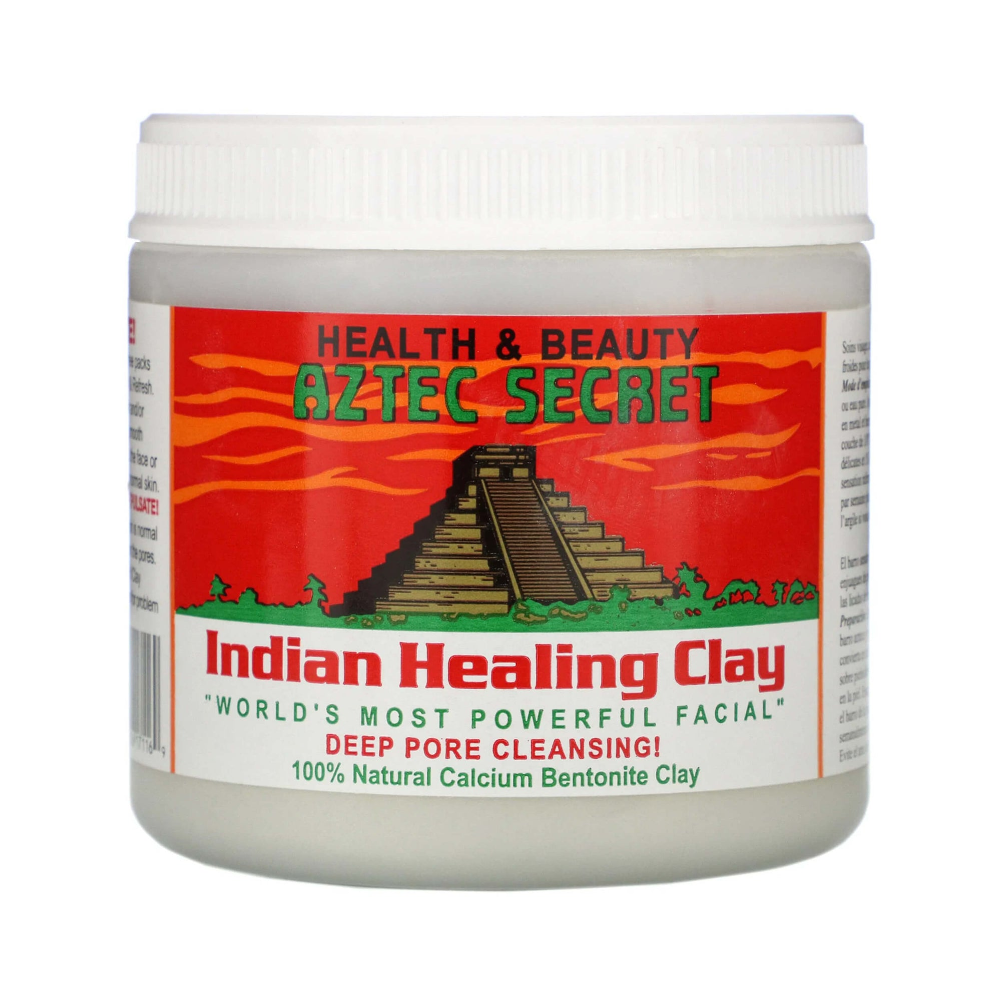 Aztec Secret Indian Healing Clay Deep Pore Cleansing 1 lb 454 g