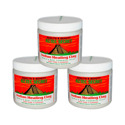 Aztec Secret Indian Healing Clay Deep Pore Cleansing Pack of 3