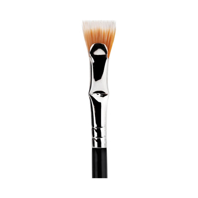BDellium Tools Maestro Line 730 Bent Mascara Fan Brush Black