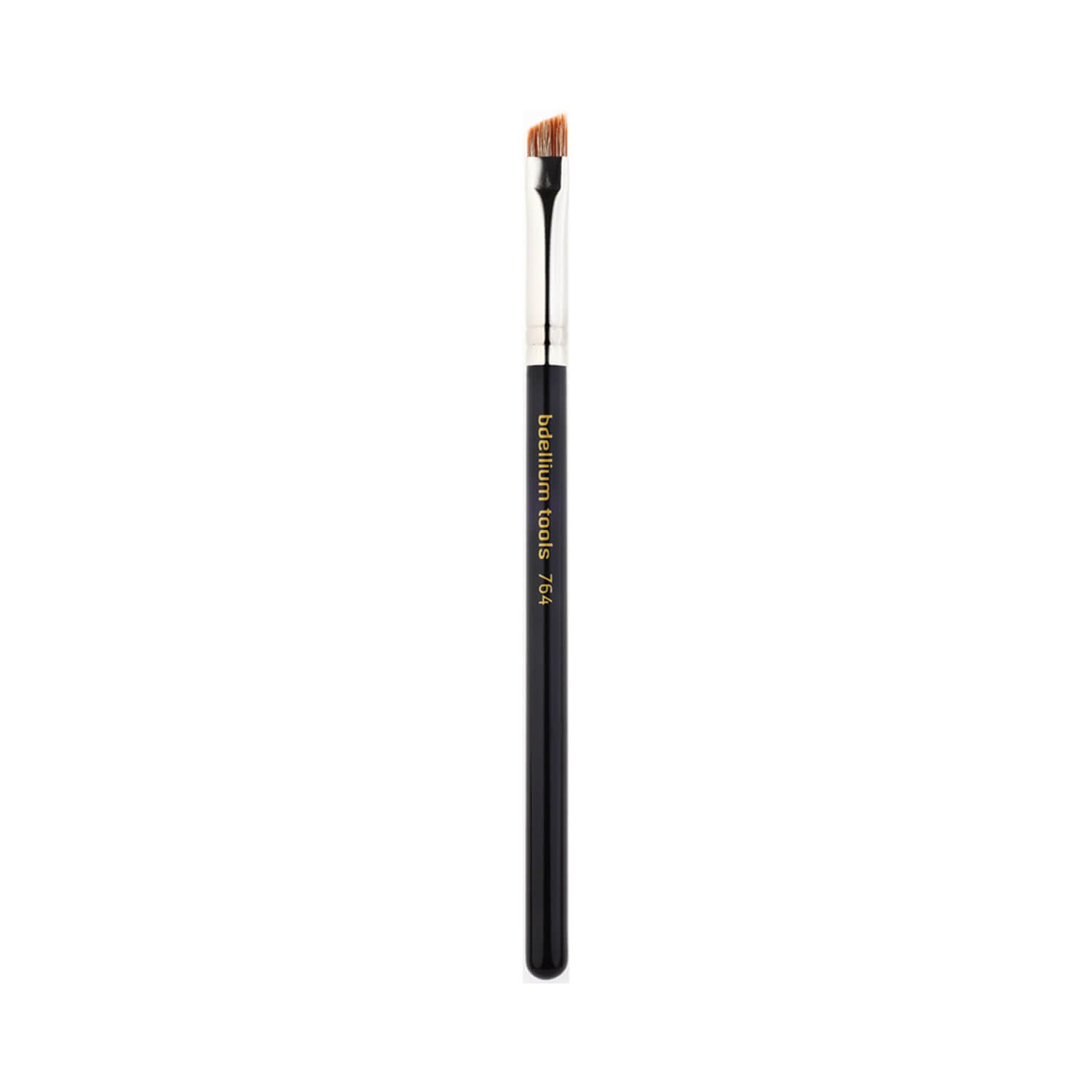 BDellium Tools Maestro Line 764 Bold Angled Brow Brush Black