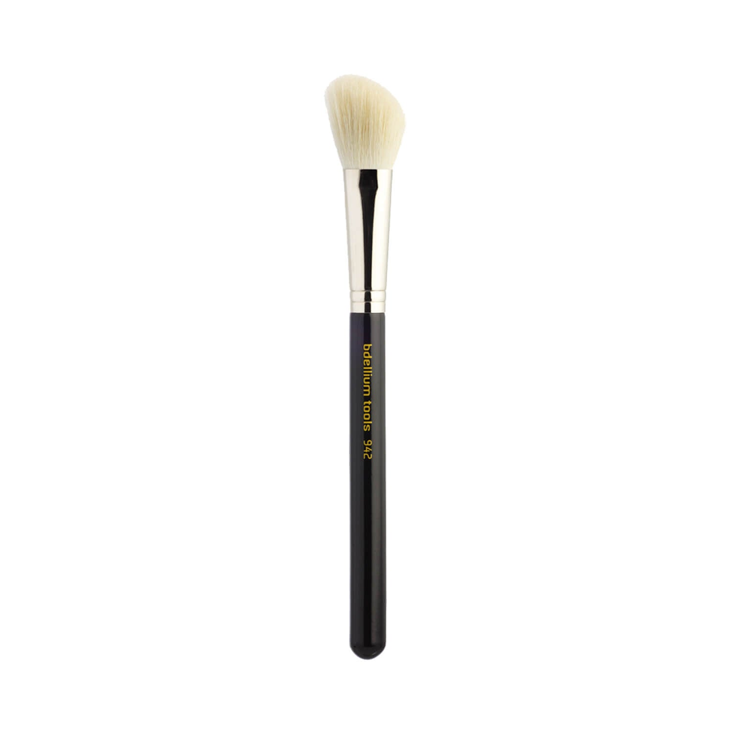 BDellium Tools Maestro Line 942 Slanted Contour Brush Black