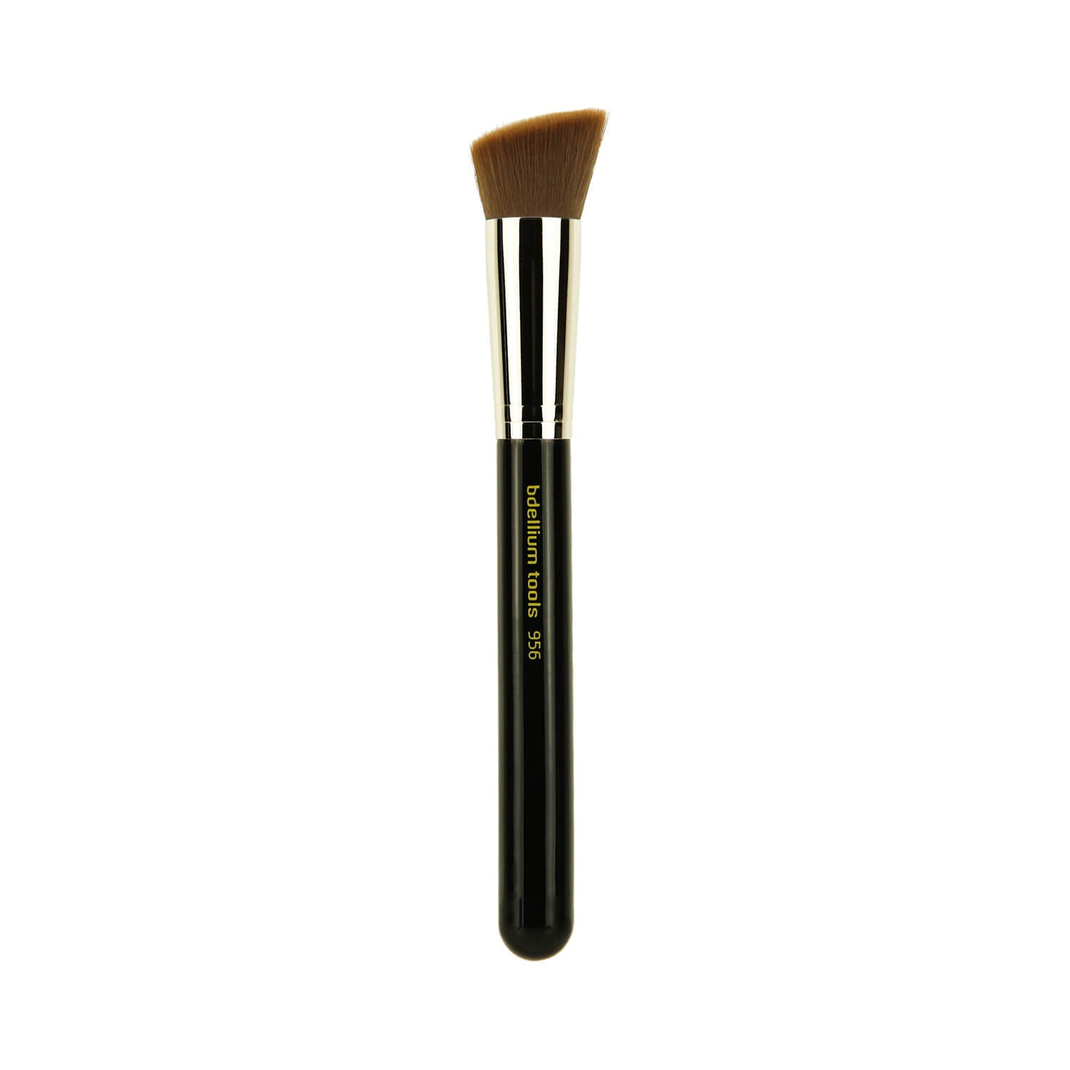 BDellium Tools Maestro Line 956 Slanted Precision Kabuki Brush Black