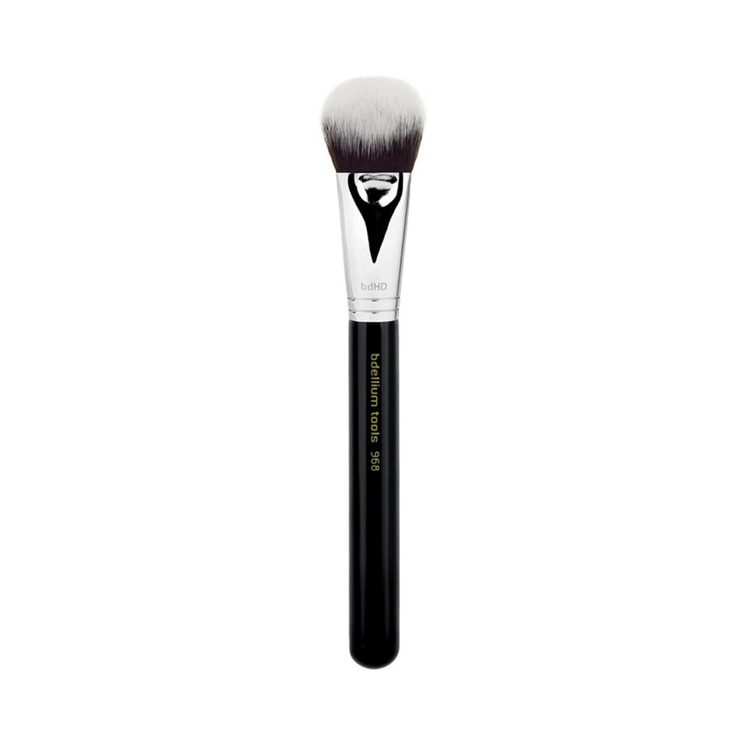 BDellium Tools Maestro Line 968 BDHD Phase II Small Foundation Contour Brush Black
