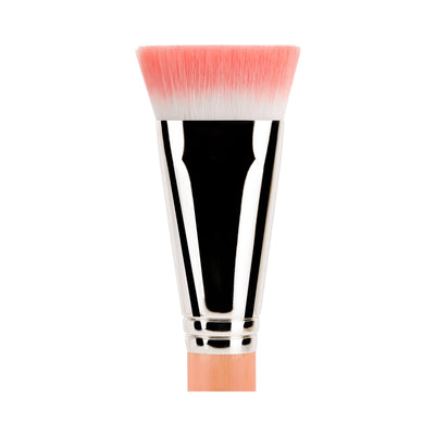 BDellium Tools Pink Bambu 987 Face Blending Brush Pink