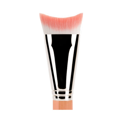 BDellium Tools Pink Bambu 989 Inverted Face Blending Brush Pink
