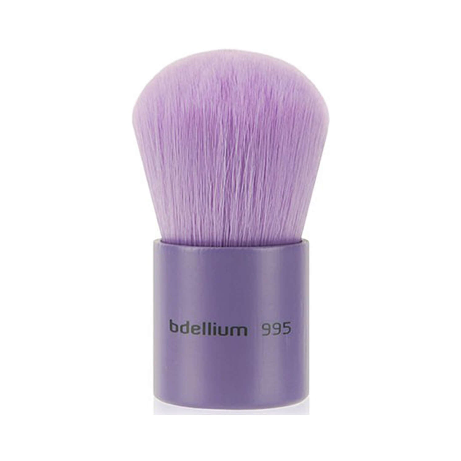 BDellium Tools Purple Bambu 995 Kabuki Brush Purple