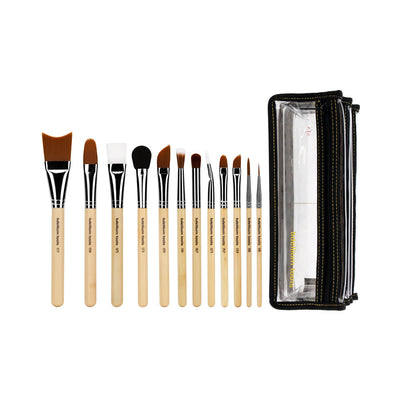 BDellium Tools SFX Brush Set 12 pc. with Double Pouch 2nd Collection