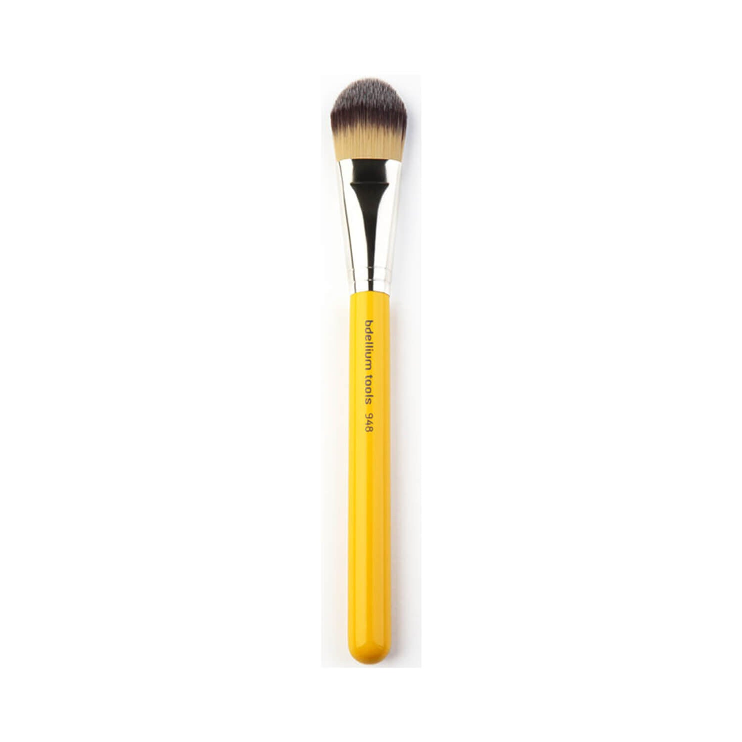 BDellium Tools Studio Line 948 Foundation Brush Yellow