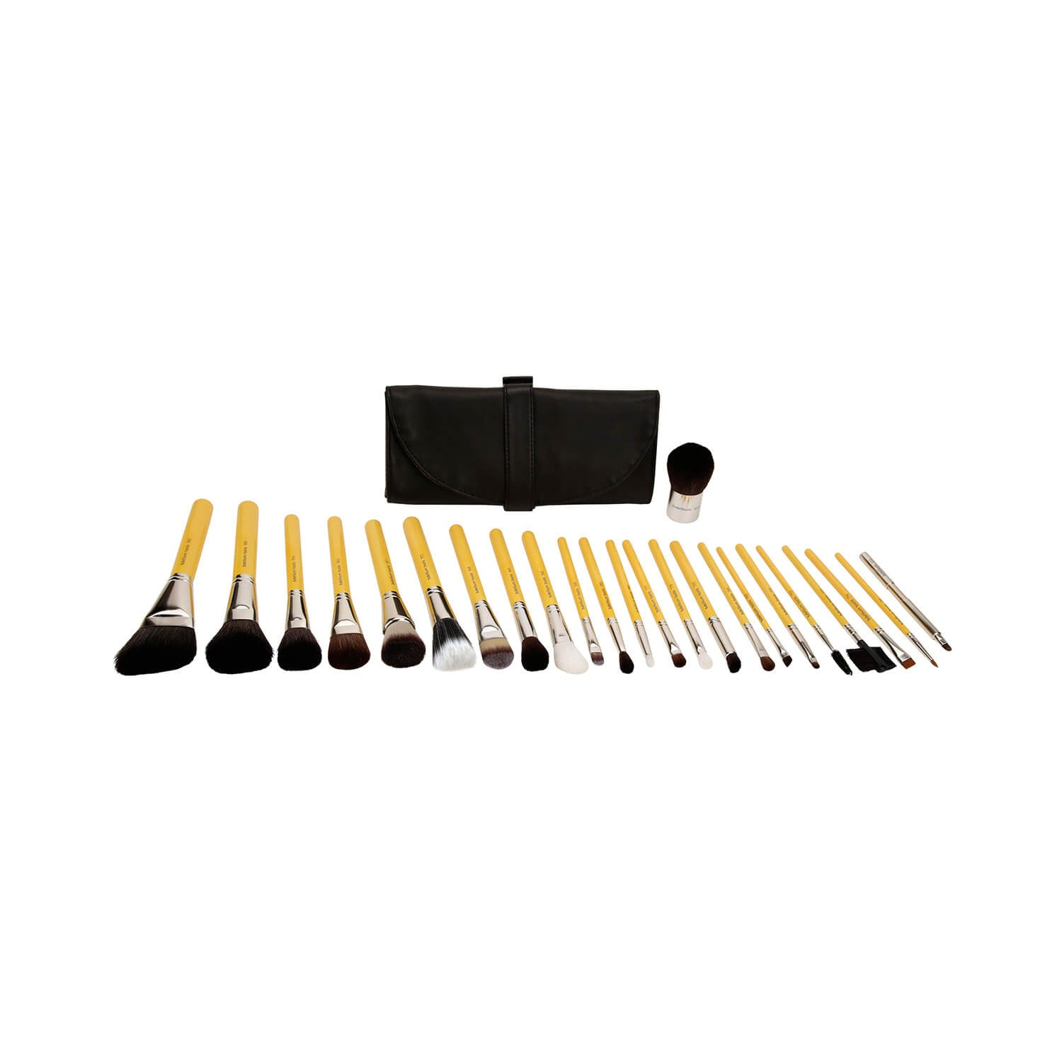 BDellium Tools Studio Luxury 24pc. Brush Set with Roll-up Pouch