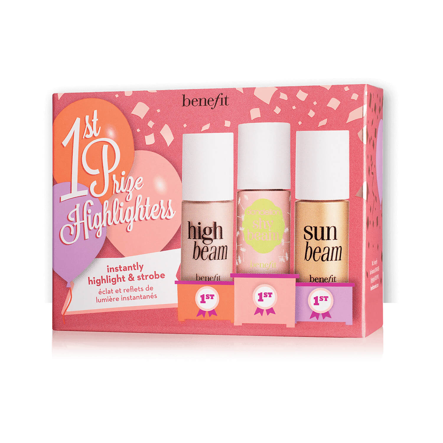 Benefit Cosmetics 1st Prize Highlighters Strobing Highlighting Set