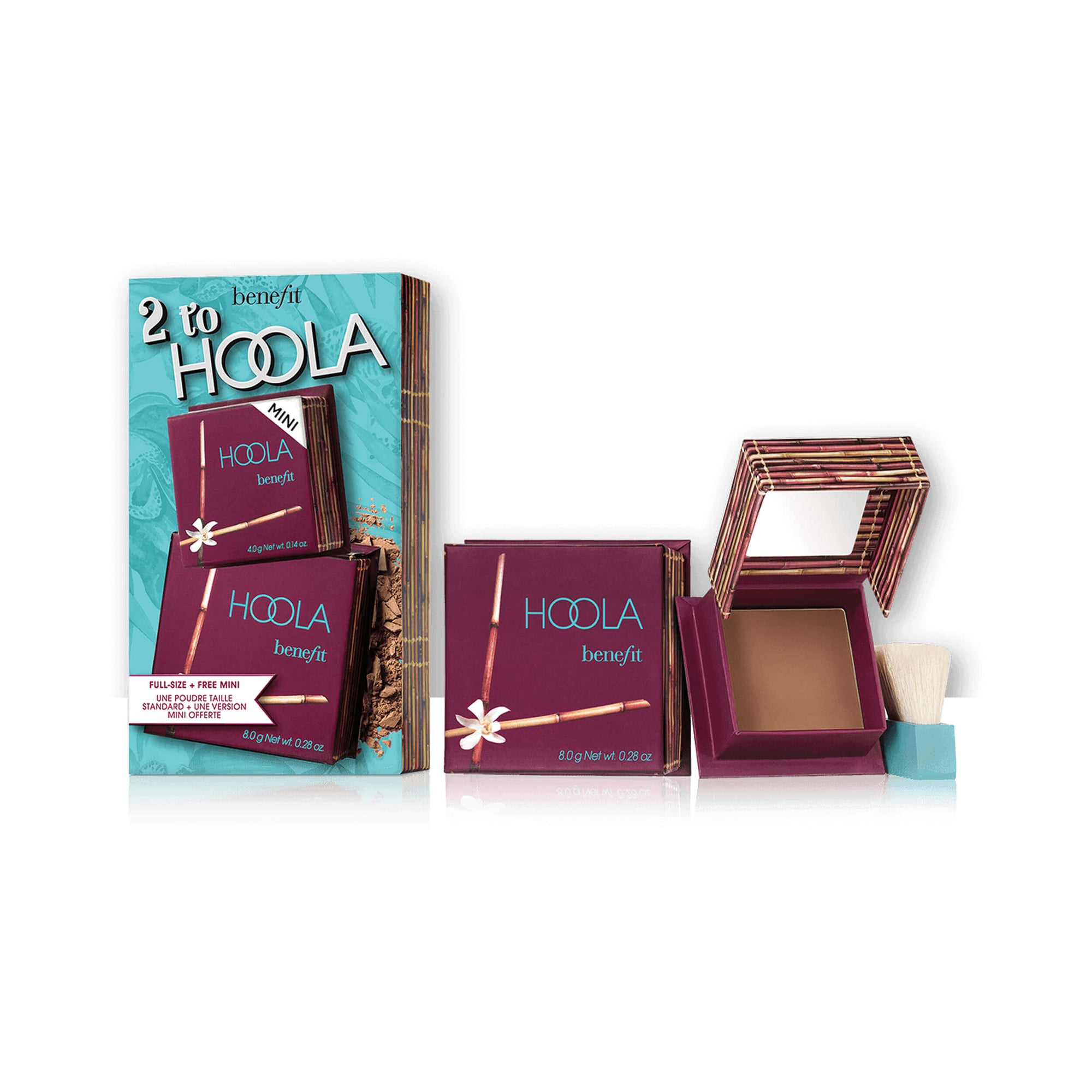 Benefit Cosmetics 2 to Hoola Matte Powder Bronzer Duo