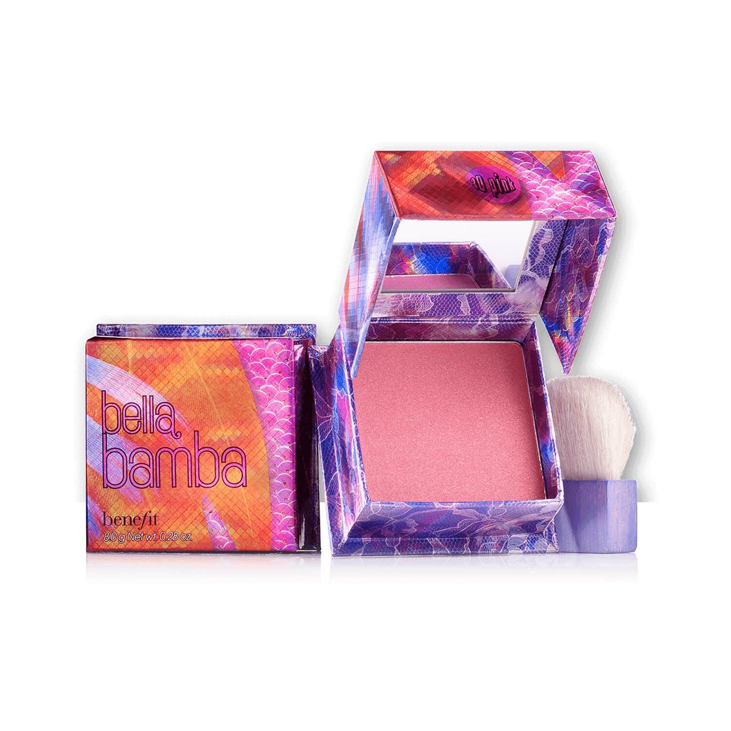 Benefit Cosmetics Bella Bamba a 3D Brightening Pink Face Powder