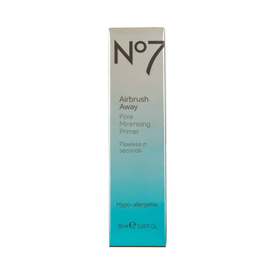 Boots No7 Airbrush Away Pore Minimising Primer 30ml Package