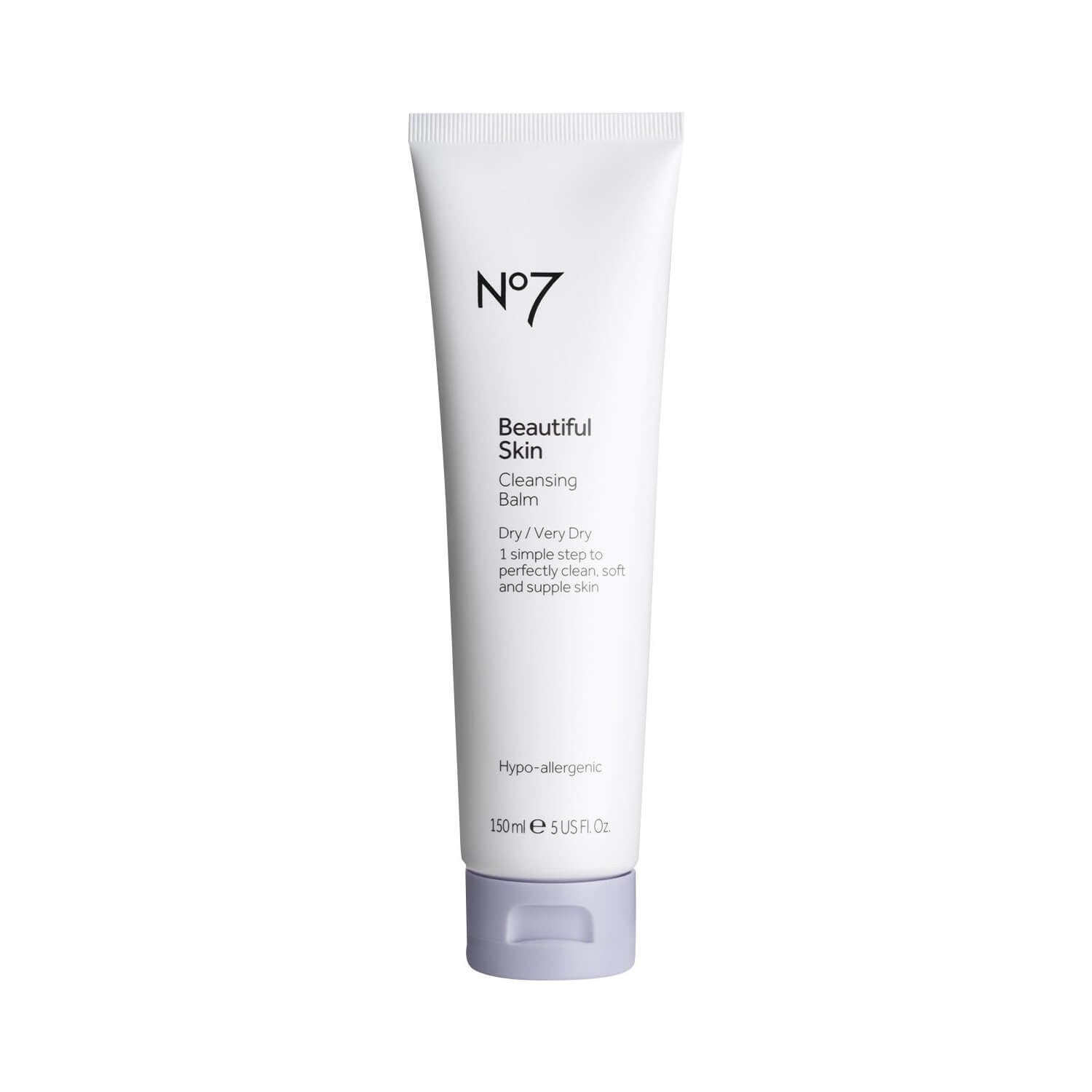 Boots No7 Beautiful Skin Cleansing Balm for Dry Very Dry Skin 150ml