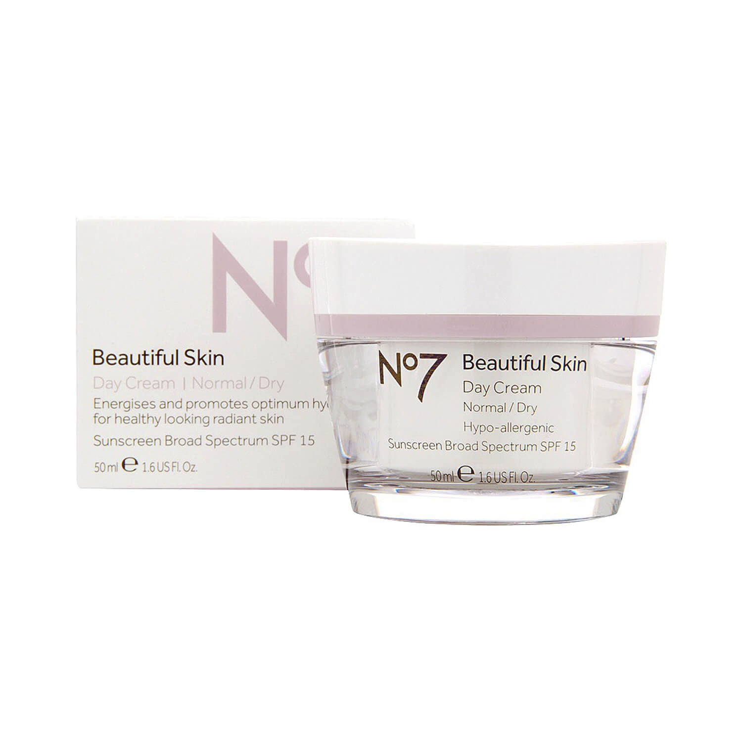 Boots No7 Beautiful Skin Day Cream Normal/Dry SPF 15 50ml