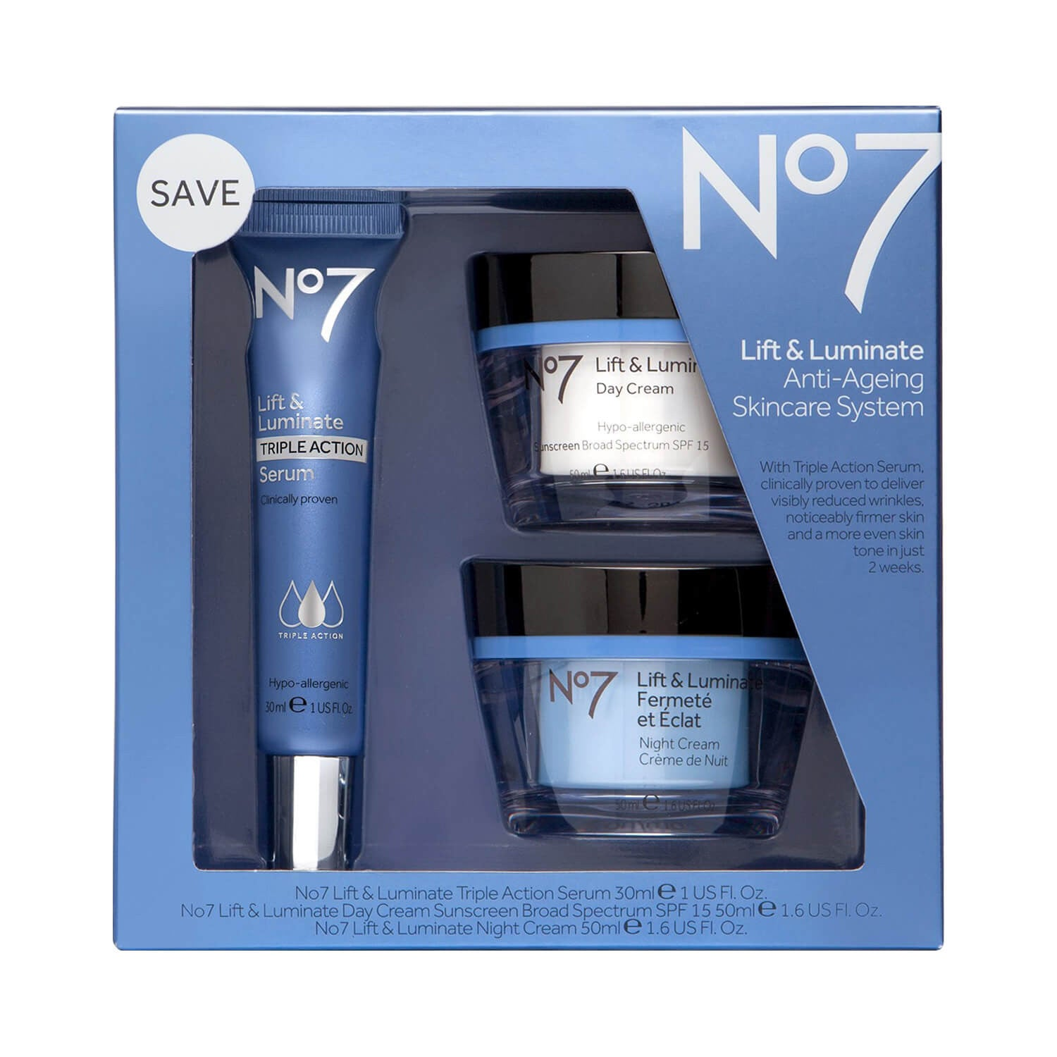 Boots No Lift Luminate Skincare System X X