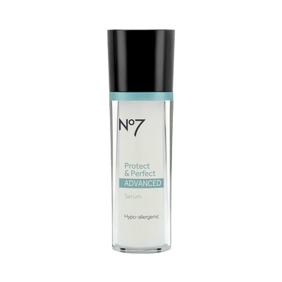 Boots No7 Protect & Perfect Advanced Anti Aging Serum Bottle 30ml