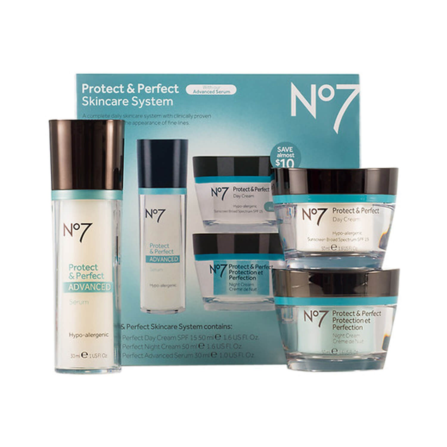 Boots No7 Protect Perfect Skincare System