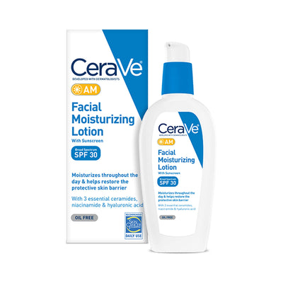 CeraVe AM Facial Moisturizing Lotion with Sunscreen 89ml