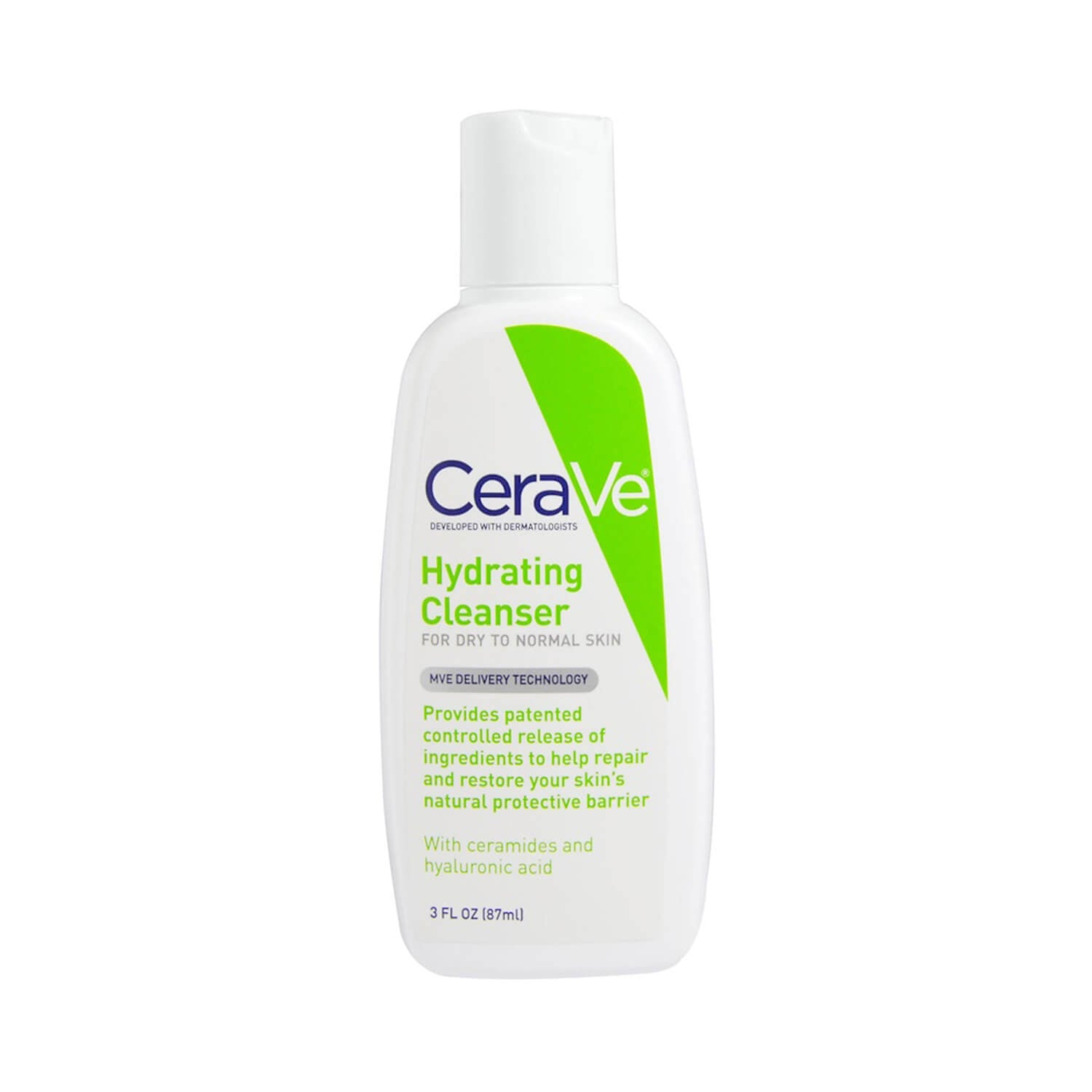 CeraVe Hydrating Cleanser Normal to Dry Skin 87ml