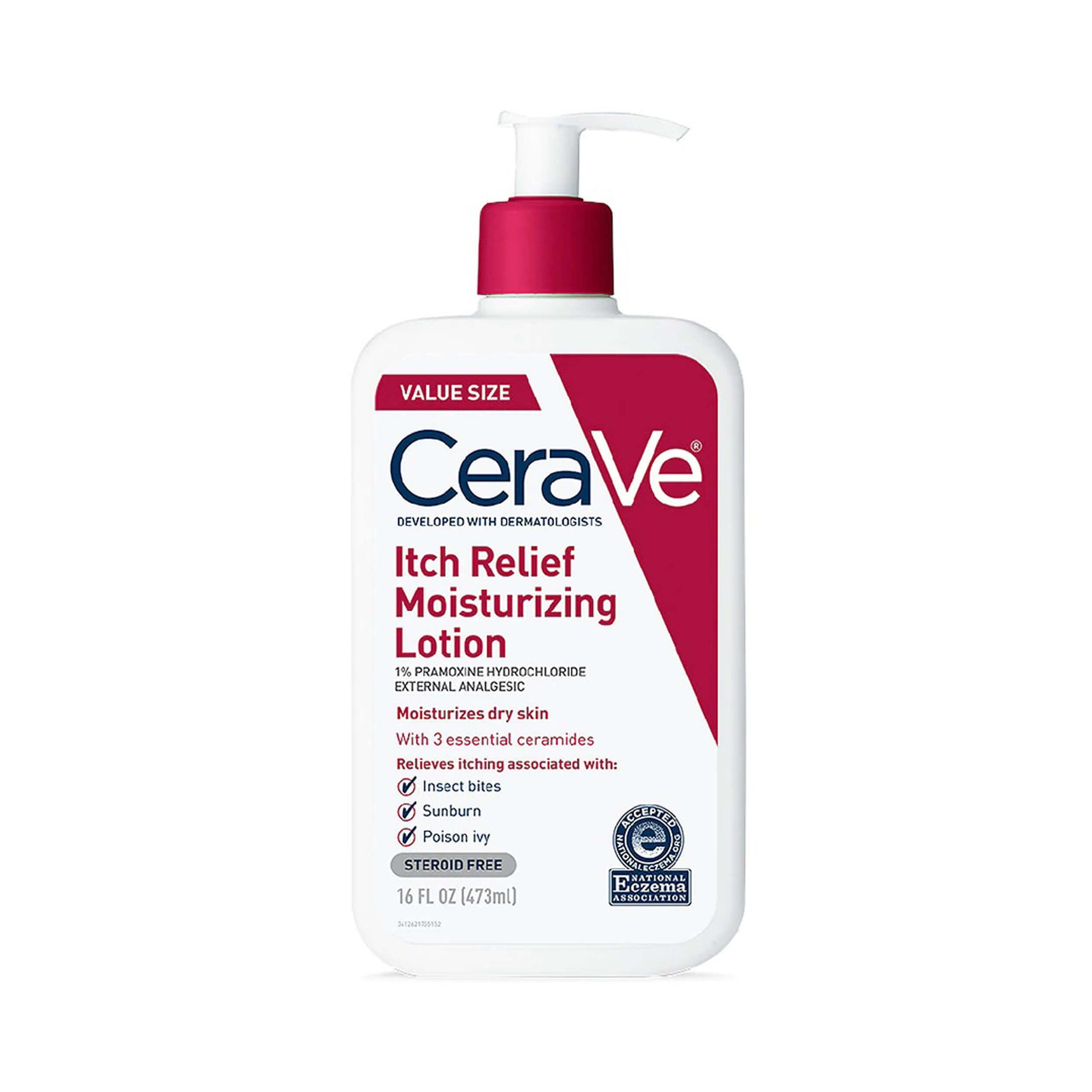 CeraVe Itch Relief Moisturizing Lotion Value Size 473 mL