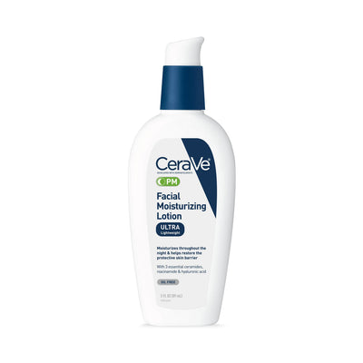CeraVe PM Facial Moisturizing Lotion for Nighttime Use