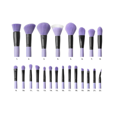 "Coastal Scents Brush Affair Vanity Collection in ""Orchid"""