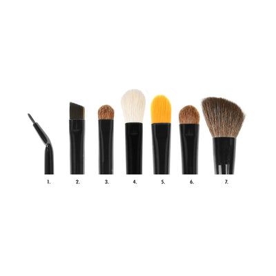 Coastal Scents CiTiSCAPE Travel Brush Set Open