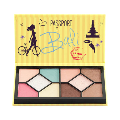Coastal Scents Passport Eyeshadow Palette Bali