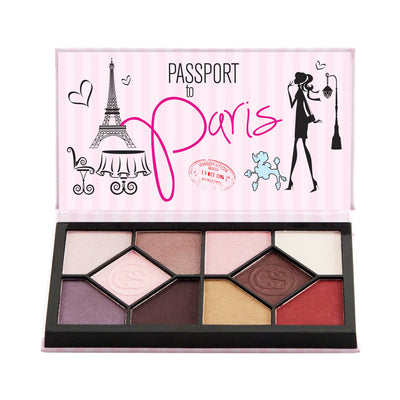 Coastal Scents Passport Eyeshadow Palette Paris