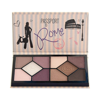Coastal Scents Passport Eyeshadow Palette Rome