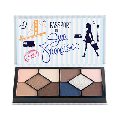 Coastal Scents Passport Eyeshadow Palette San Francisco