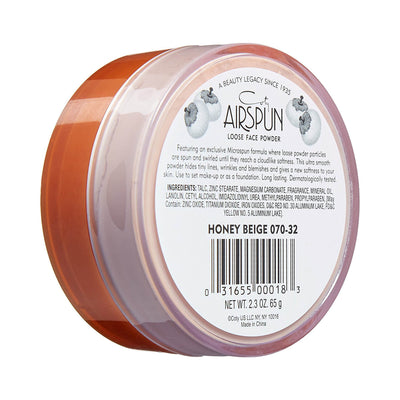 Coty Airspun Loose Face Powder Honey Beige