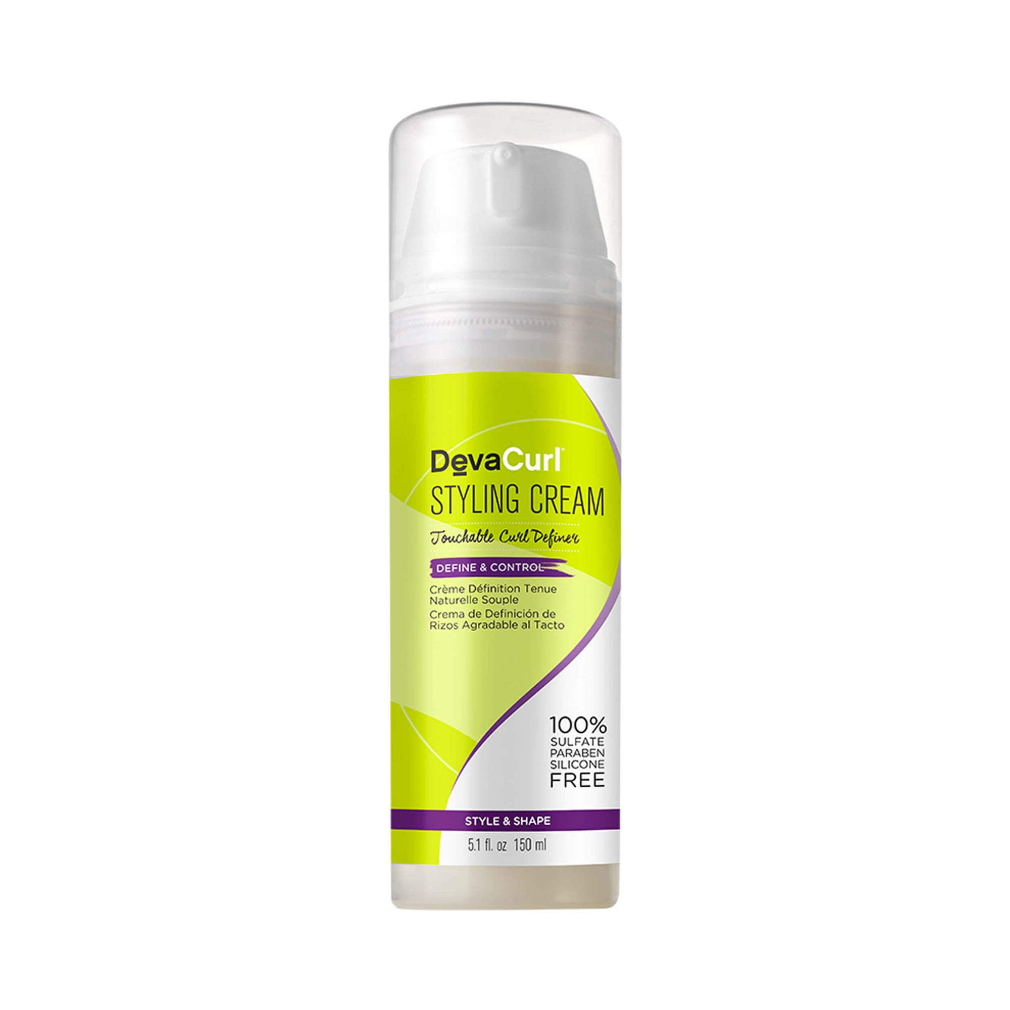DevaCurl - Styling Cream Touchable Curl Definer Define & Control 150 mL