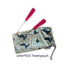 Dr Tung's Stainless Steel Tongue Cleaner Free Travel Pouch
