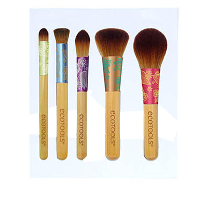 EcoTools - Fresh & Flawless Complexion Brush Set - 5 Piece Brush Set