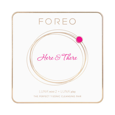 FOREO Here There Cleansing Gift Set