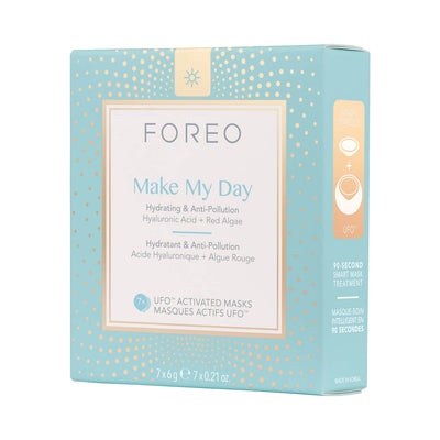 FOREO Make My Day UFO-Activated Mask 7 Pack The Package