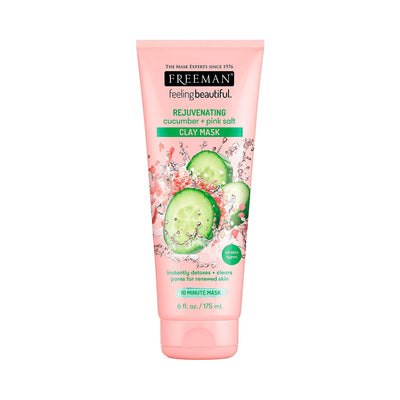 Freeman Feeling Beautiful REJUVENATING Cucumber Pink Salt Clay Mask
