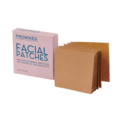 Frownies Facial Patches for Wrinkles on the Corner of Eyes Mouth (CEM) Open