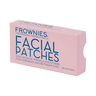 Frownies 144 Facial Patches for Wrinkles on the Forehead & Between Eyes (FBE)
