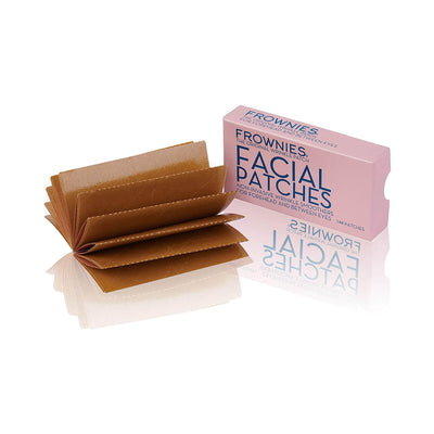 Frownies 144 Facial Patches for Wrinkles on the Forehead & Between Eyes (FBE) Open