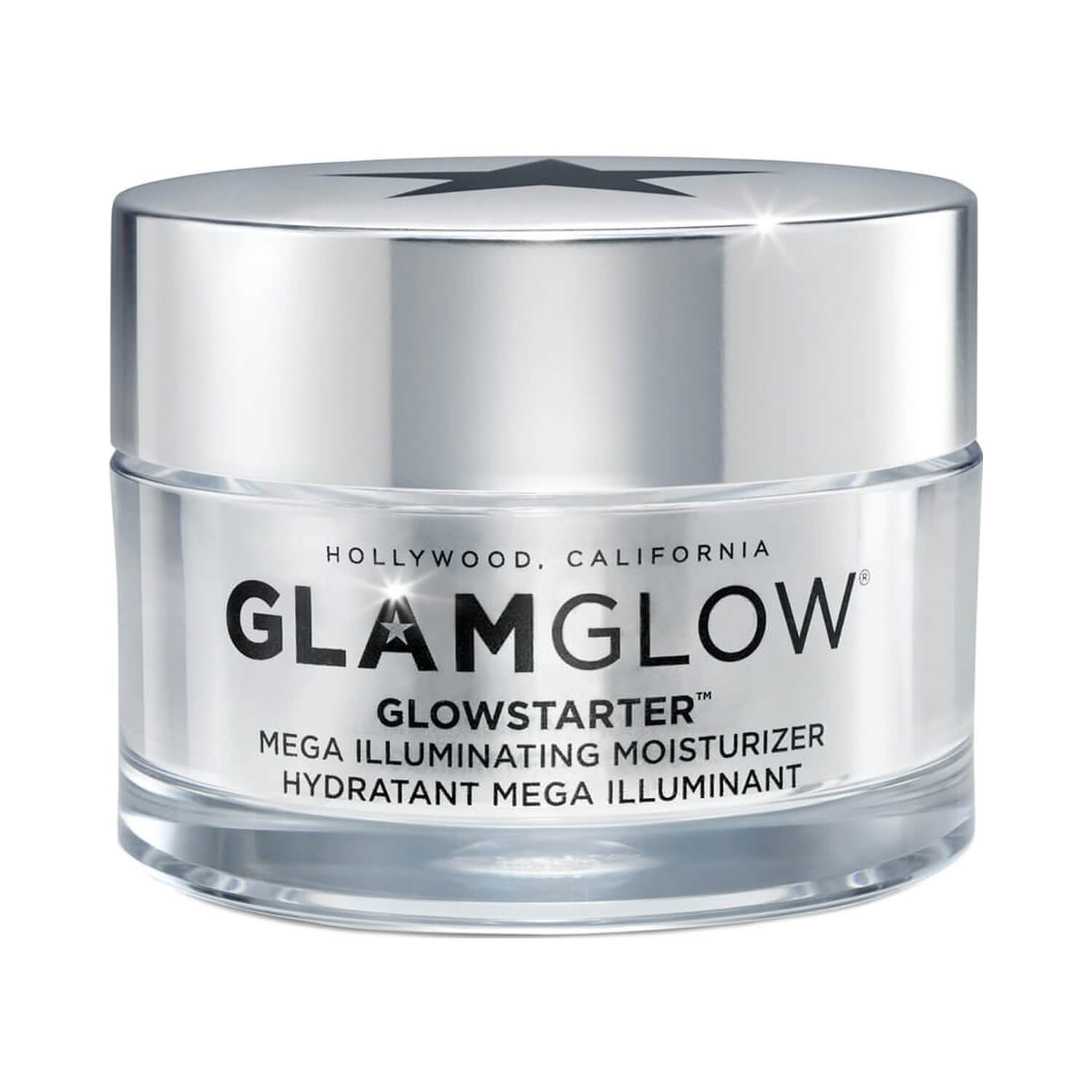 GlamGlow GLOWSTARTER Mega Illuminating Moisturizer Closed