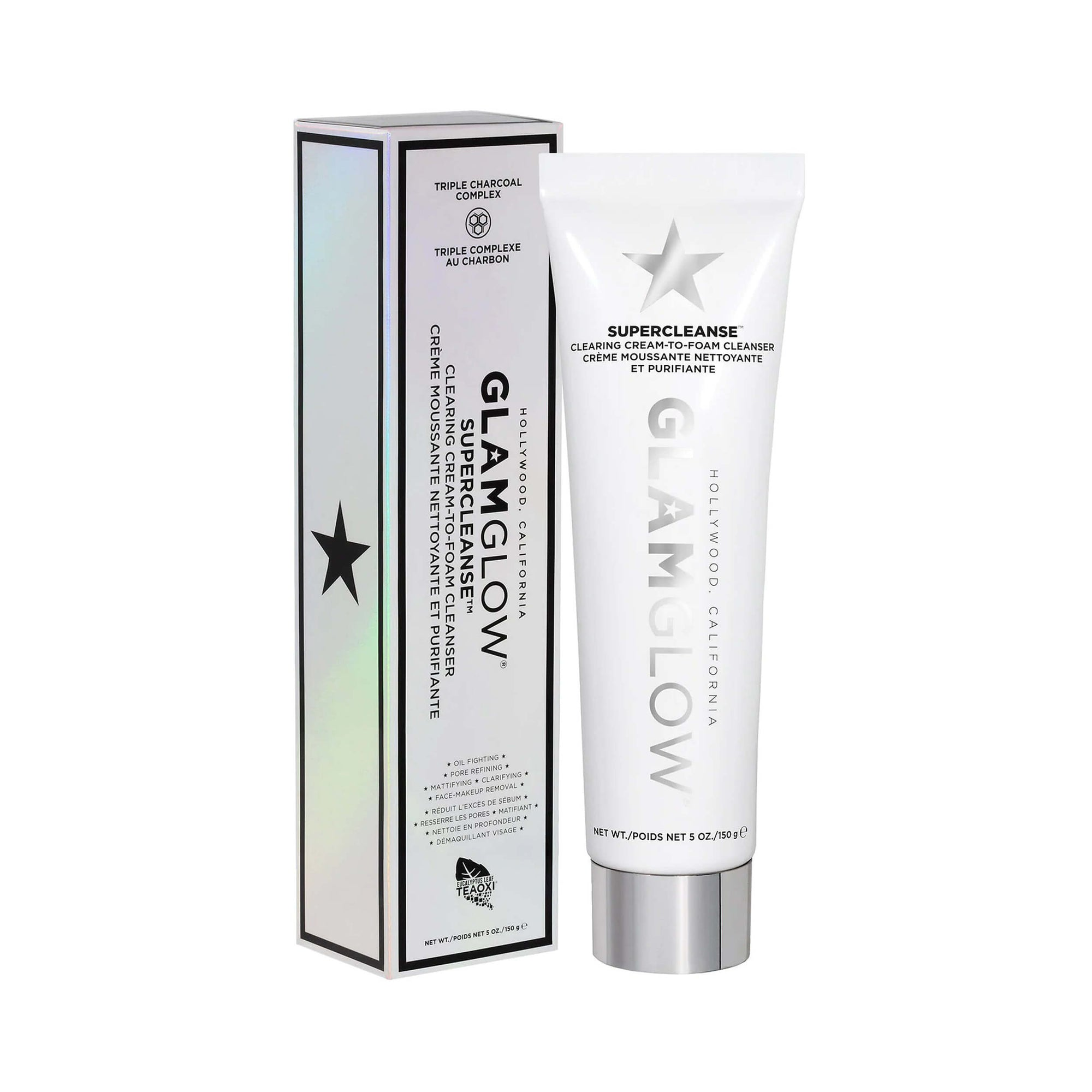 Glamglow SUPERCLEANSE Clearing Cream-to-Foam Cleanser 150 g
