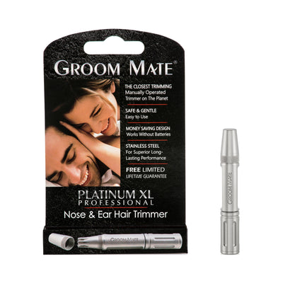 Groom Mate Platinum XL Professional Nose Ear Hair Trimmer Packaging