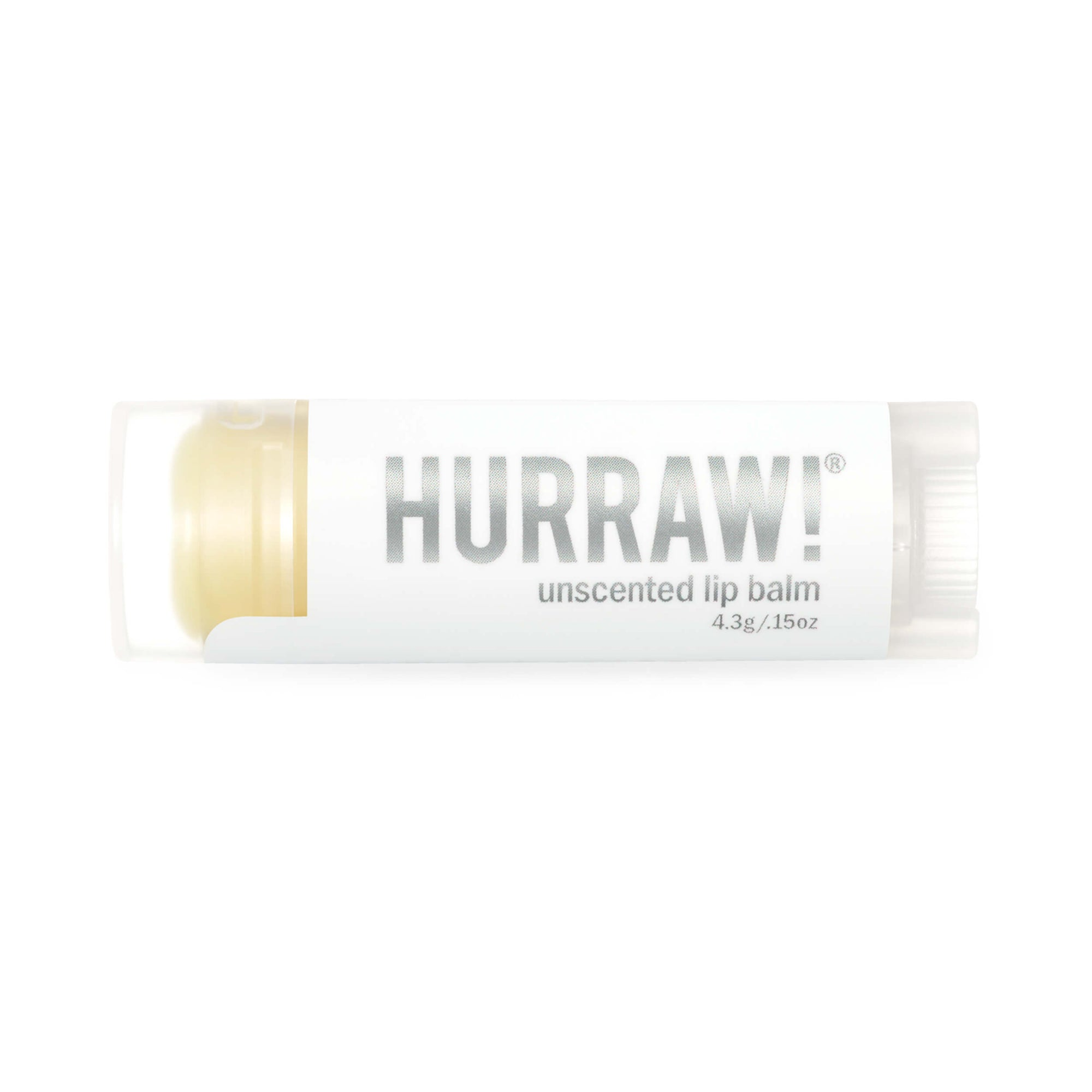Hurraw! Unscented Lip Balm 4.3g