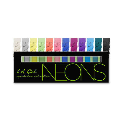 LA Girl Beauty Brick Eyeshadow Collection GES334 Neons