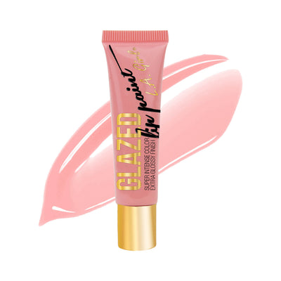 L.A Girl Glazed Lip Paint Flirt