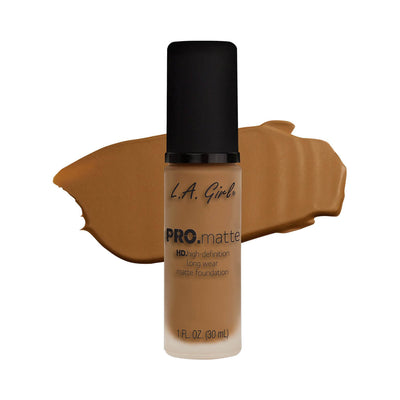 LA Girl PRO Matte Foundation Caramel GLM681